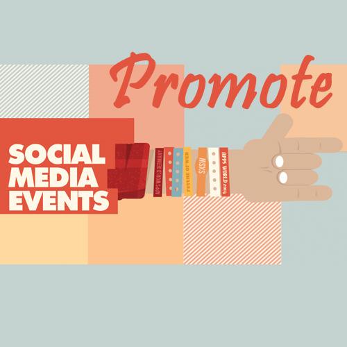 promote events, on social media, s2r studios
